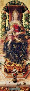 The Madonna of the Little Candle by Carlo Crivelli