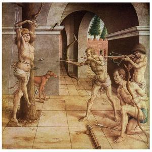 The Martyrdom of St Sebastian, 15th Century by Carlo Crivelli
