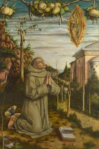 The Vision of the Blessed Gabriele, 1489 by Carlo Crivelli