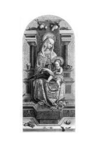 Virgin and Child, 1482 by Carlo Crivelli