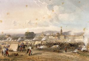 Field of African Hunters in Novara in 1859 by Carlo Dolci