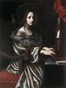 Saint Cecilia, 1640S by Carlo Dolci