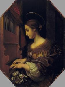 St. Cecilia by Carlo Dolci