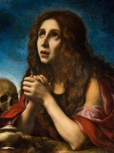 The Penitent Magdalen, C.1670 by Carlo Dolci