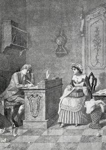 Act I, Scene I from Comedy Lindoro's Jealousy by Carlo Goldoni