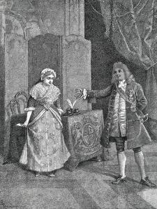 Act I, Scene III of Comedy Pamela Nubile by Carlo Goldoni