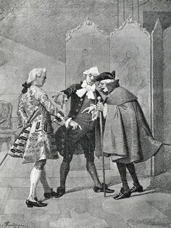 Act III, Scene I from Comedy Boors