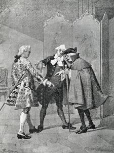 Act III, Scene I from Comedy Boors by Carlo Goldoni