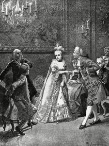 Cunning Widow, Act III, Scene XXV Comedy by Carlo Goldoni