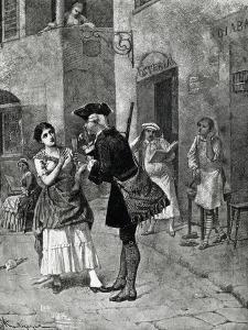 Fan, Act I, Scene Iv of Comedy by Carlo Goldoni