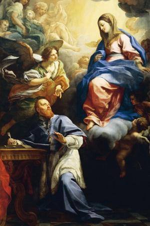 Virgin with Child Appearing to St. Francis De Sales, 1691