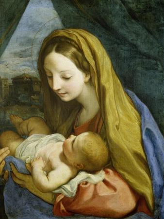 Madonna with Child, about 1660