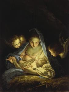 Mary and the Infant Christ by Carlo Maratti
