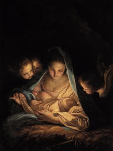 The Holy Night by Carlo Maratti