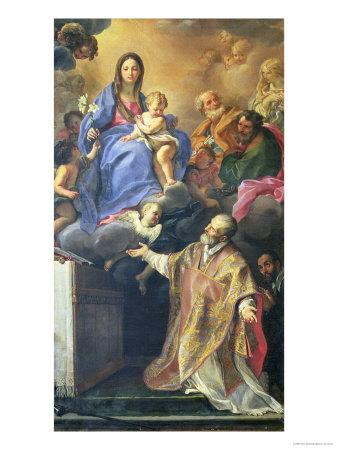 The Virgin Mary Appearing to St. Philip Neri