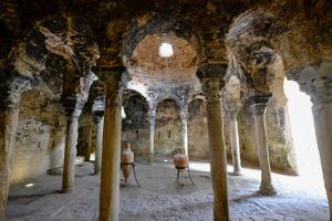 Arab baths, Banys Arabs, Palma, Majorca, Balearic Islands, Spain, Europe by Carlo Morucchio