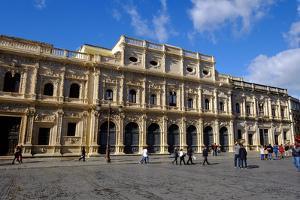 Ayuntamiento, Plaza De San Francisco, Seville, Andalucia, Spain by Carlo Morucchio