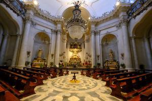 Badia di Sant'Agata Church, Catania, Sicily, Italy, Europe by Carlo Morucchio