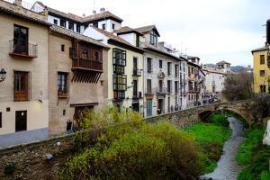 Carrera Del Darro, Granada, Andalucia, Spain by Carlo Morucchio