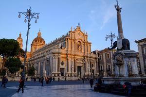 Catania Cathedral, dedicated to Saint Agatha, Catania, Sicily, Italy, Europe by Carlo Morucchio