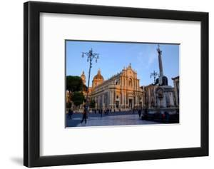 Catania Cathedral, dedicated to Saint Agatha, Catania, Sicily, Italy, Europe by Carlo Morucchio