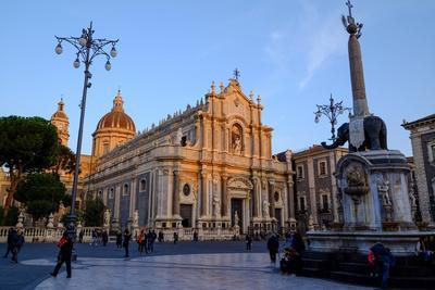 Catania Cathedral, dedicated to Saint Agatha, Catania, Sicily, Italy, Europe