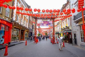 Chinatown, London, England, United Kingdom, Europe by Carlo Morucchio