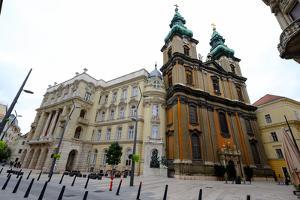 Egyetemi Templom (University Church), Budapest, Hungary, Europe by Carlo Morucchio