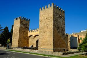 Gate of the city walls, Alcudia, Majorca, Balearic Islands, Spain, Europe by Carlo Morucchio
