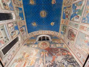 Giotto Frescoes in the Scrovegni Chapel (Cappella Degli Scrovegni), a Church in Padua, Veneto, Ital by Carlo Morucchio
