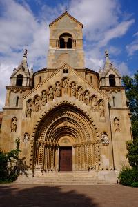 Jaki Kapolna, the Chapel at Vajdahunyad Castle, Budapest, Hungary, Europe by Carlo Morucchio