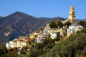 Legnaro Village, Near Monterosso, Cinque Terre, Liguria, Italy, Europe by Carlo Morucchio