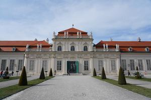 Lower Belvedere, Vienna, Austria by Carlo Morucchio