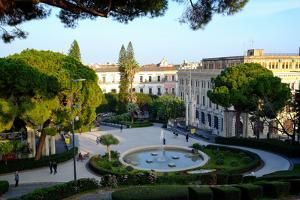 Maestranze Park, Catania, Sicily, Italy, Europe by Carlo Morucchio