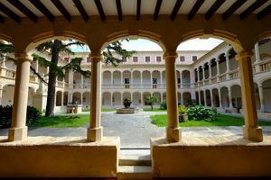 Monastery of Santa Maria de la Real, Majorca, Balearic Islands, Spain, Europe by Carlo Morucchio