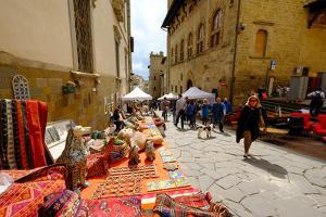 Monthly Antique Market, Arezzo, Tuscany, Italy, Europe by Carlo Morucchio