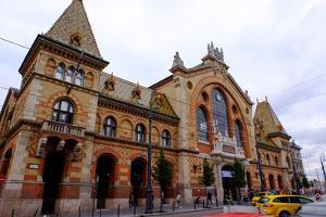 Nagyvasarcsarnok Central Market, Budapest, Hungary, Europe by Carlo Morucchio