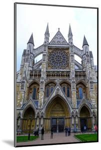 North entrance of Westminster Abbey, London, England, United Kingdom, Europe by Carlo Morucchio