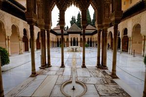 Palace of the Lions (Palacio De Los Leones), the Alhambra, Granada, Andalucia, Spain by Carlo Morucchio