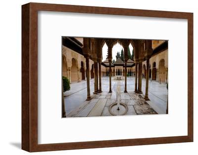 Palace of the Lions (Palacio De Los Leones), the Alhambra, Granada, Andalucia, Spain