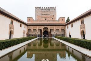 Patio De Arrayanes, Palacios Nazaries, the Alhambra, Granada, Andalucia, Spain by Carlo Morucchio