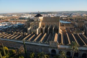Patio De Los Naranjos and the Mezquita Cathedral Seen from its Bell Tower by Carlo Morucchio