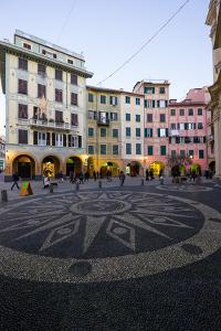 Piazza Caprera, Santa Margherita Ligure, Genova, Liguria, Italy, Europe by Carlo Morucchio