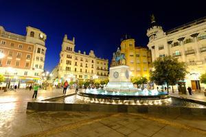 Plaza Tendillas, Cordoba, Andalucia, Spain by Carlo Morucchio