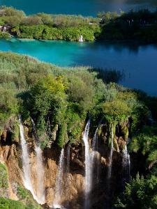 Plitvice Lakes National Park, UNESCO World Heritage Site, Croatia, Europe by Carlo Morucchio