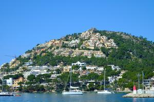 Port d'Andratx fishing village, Majorca, Balearic Islands, Spain, Mediterranean, Europe by Carlo Morucchio