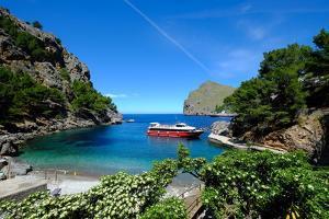 Port de Sa Calobra, Majorca, Balearic Islands, Balearic Islands, Spain, Mediterranean, Europe by Carlo Morucchio