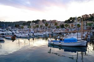 Port de Soller, Majorca, Balearic Islands, Spain, Mediterranean, Europe by Carlo Morucchio