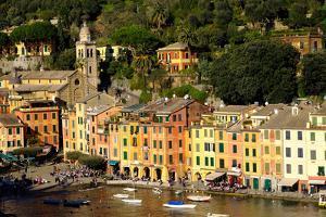 Portofino, Genova (Genoa), Liguria, Italy, Europe by Carlo Morucchio