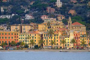 Santa Margherita Ligure Seen from the Harbour, Genova (Genoa), Liguria, Italy, Europe by Carlo Morucchio